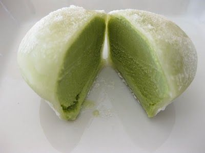 I like green tea mochi!  Recipe here too...