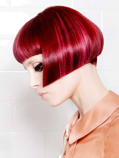 Viva el color y viva la peluquería. ¡Feliz viernes! #Hair: Mirko Battipaglia Visto en Hair's How