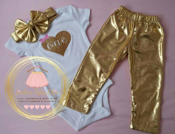 Check out this item in my Etsy shop https://www.etsy.com/ca/listing/269425733/gold-legging-1st-birthday-outfit-gold