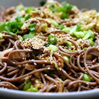Spicy Soba Noodles with Shiitakes by smittenkitchen.com | project ...