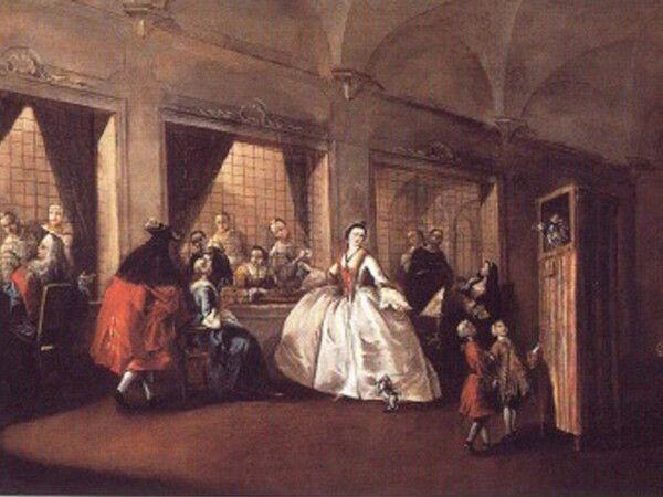 Parlatorio delle suore di San Zaccaria 1740 1750
