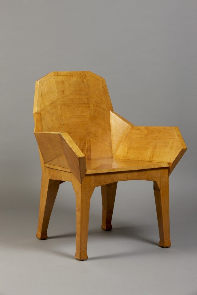 Anthroposophical style/ Armchair/ c. 1930/ Franck Laigneau Gallery