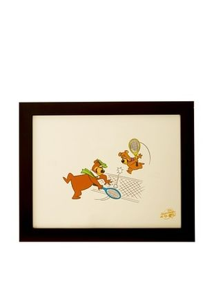 89% OFF Hanna-Barbera Productions Framed Yogi Bear & Boo Boo Ltd. Edition Serigraph