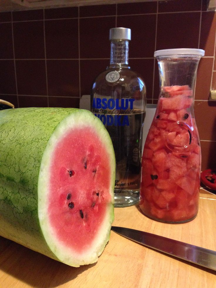 Watermelon Infused Vodka