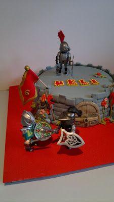 tarta playmobil
