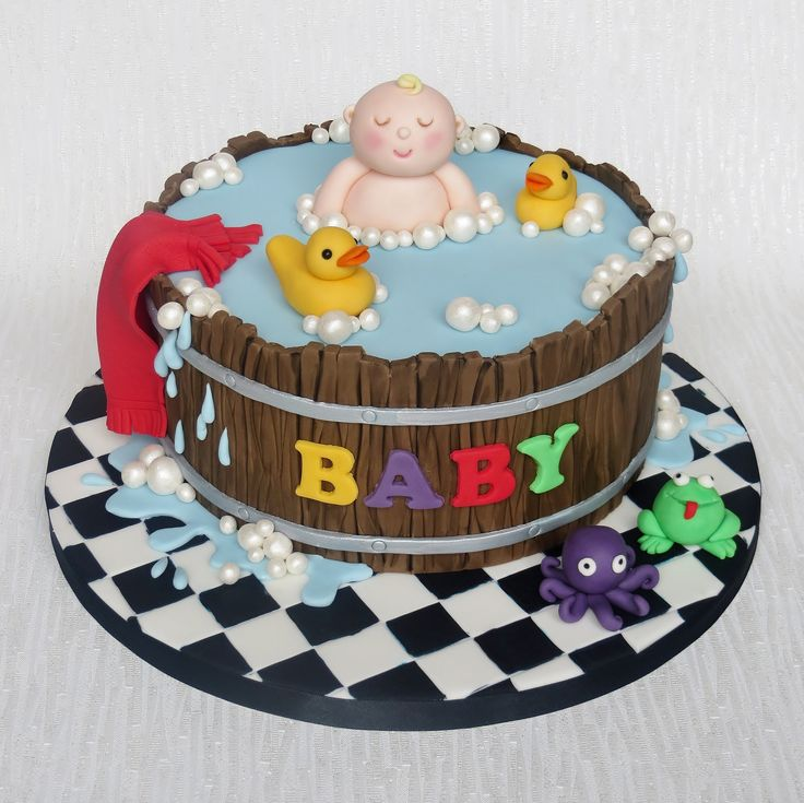 Cake Design For Unisex : 17 Best images about Cakes - Baby Shower Ducks on ...