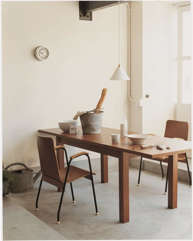 10★ASH EXTENSION TABLE ANTON brown: テーブル/デスクデザイン家具 インテリア雑貨 - IDEE SHOP Online