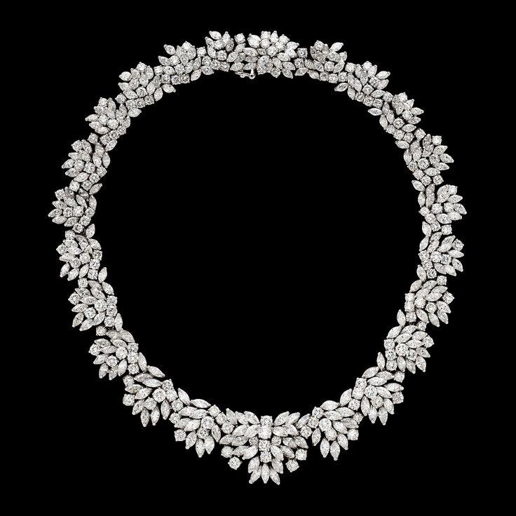 Vintage Diamond and Platinum Necklace
