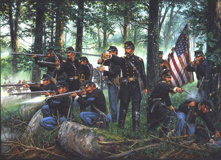 LITTLE ROUND TOP    Gettysburg, Pennsylvania  July 2, 1863
