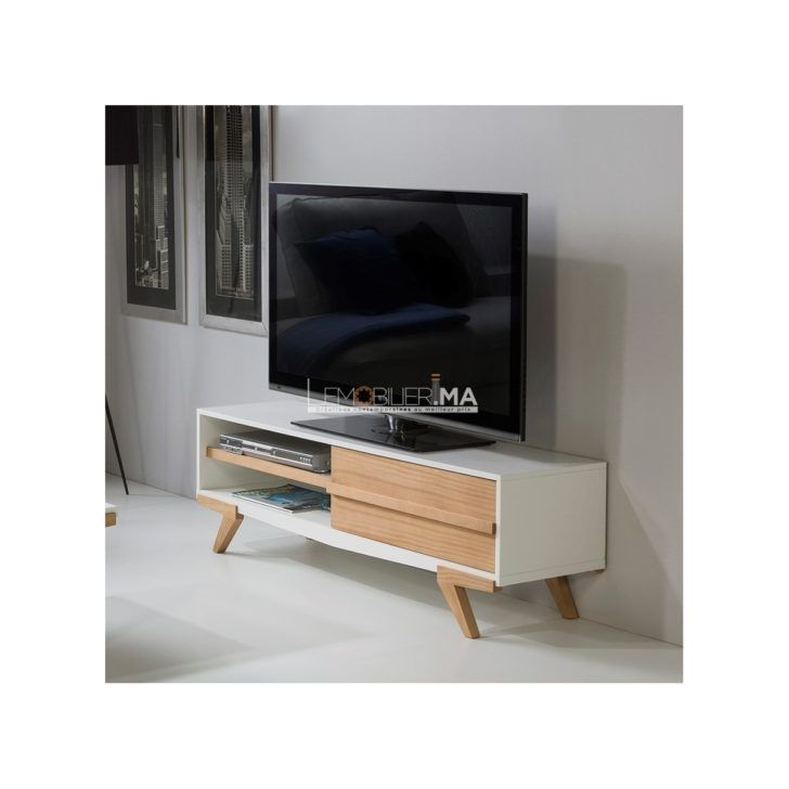 Interior Design Meuble Tele Blanc Candy Meuble Tv Blanc Lemobilier Tele Table Salle Manger G Etagere Murale Chambre Bebe Meuble Tv Blanc Etagere Murale Chambre