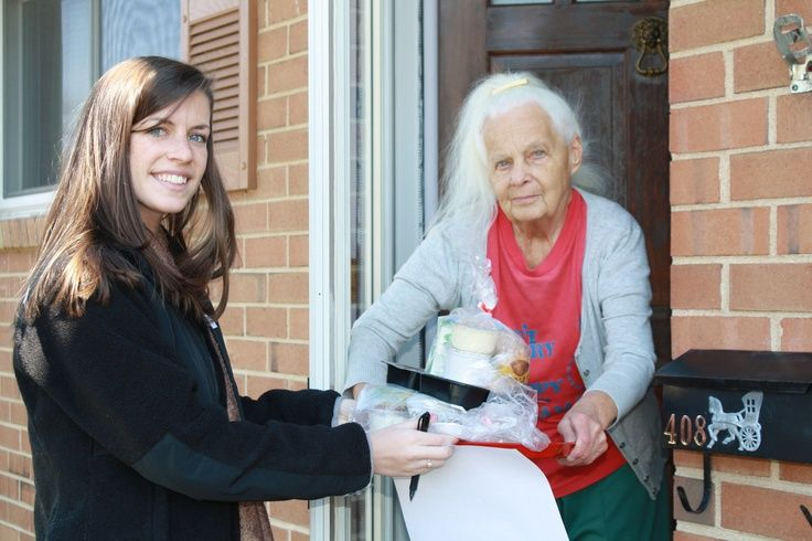 "Social isolation is a significant concern for seniors living on their own. The daily visits by Meals on Wheels volunteers includes not just a meal but a chance for a friendly smile, a little upbeat conversation and a face- to-face visit that serves as a ""wellness check."" Thank YOU VOLUNTEERS for checking in on elderly neighbors! #volunteer #MealsOnWheels"