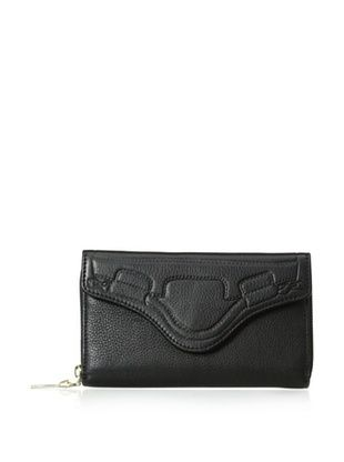 63% OFF Foley + Corinna Women's City Flap Continental Wallet, Black