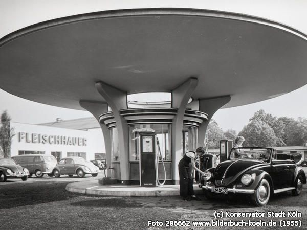 TankstellebeiFleischhauer, Fröbelstr., 50823 Köln - Ehrenfeld (1955)