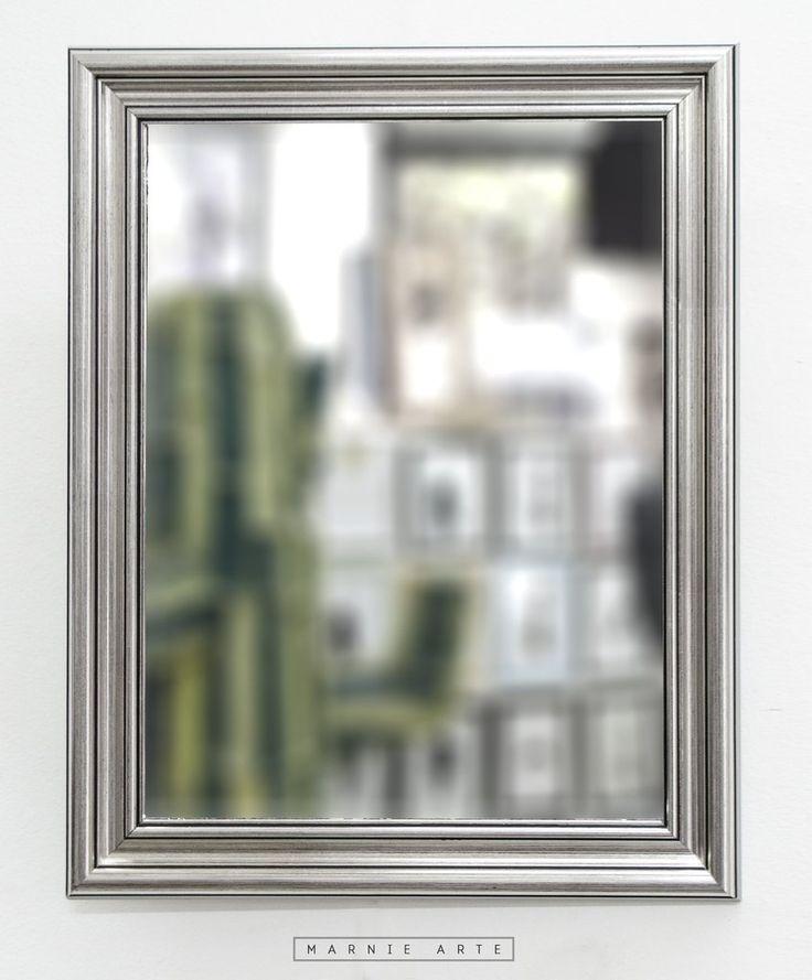 17 mejores ideas sobre espejos dorados en pinterest for Espejo vintage plateado