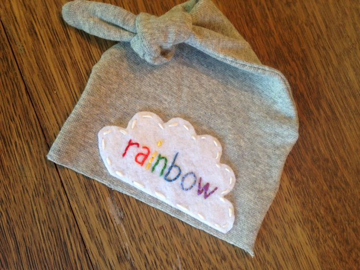 Personalized newborn hat rainbow baby    Personalized newborn baby hat - knot hat - baby boy - baby girl - modern hospital hat - newborn photo prop - baby name hat - personalized baby gift - personalized baby present  https://www.etsy.com/listing/251619281/personalized-rainbow-baby-hat-newborn