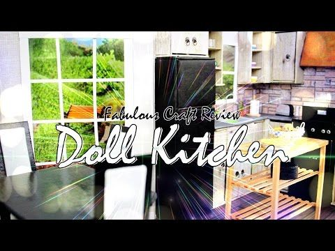 Fabulous Craft Review: Doll Room in a Box: Kitchen - EXTREME Doll Crafts - YouTube