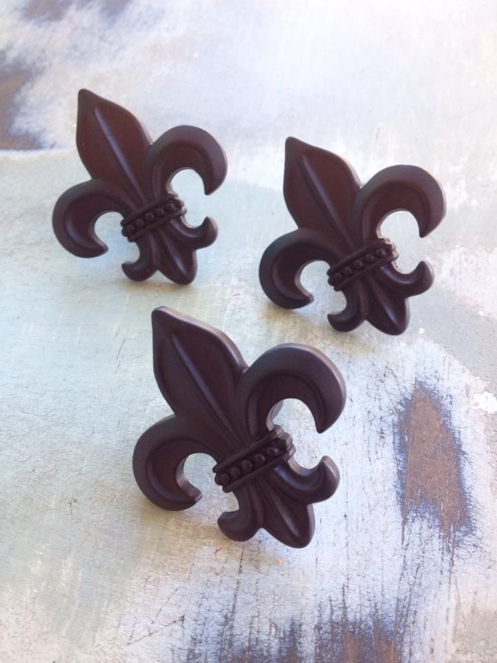 Fleurty Girl - Everything New Orleans - Fleur de Lis Drawer Pull - Pillows & Decor - For the Home