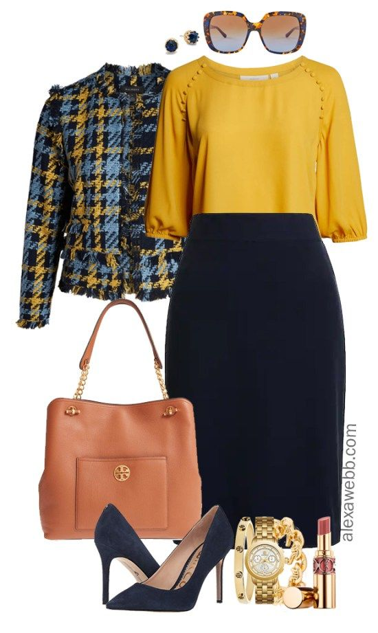Plus Size Work to Happy Hour Outfits 1