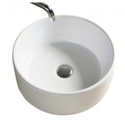 Vogue Ceramic Vessel Basin - White