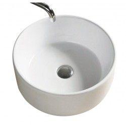 Vogue Ceramic Vessel Basin - White