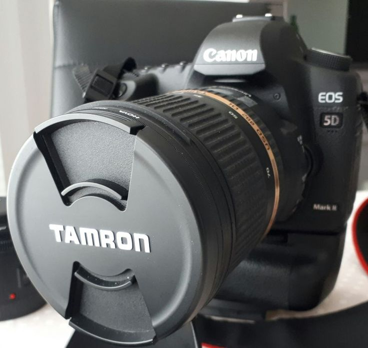Canon 5D markii avec 2 objectifs: Tamron 24-70mm et canon 50mm
