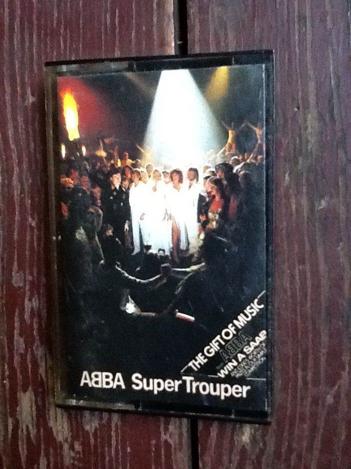 Abba Super Trouper UK Cassette. More details on site.