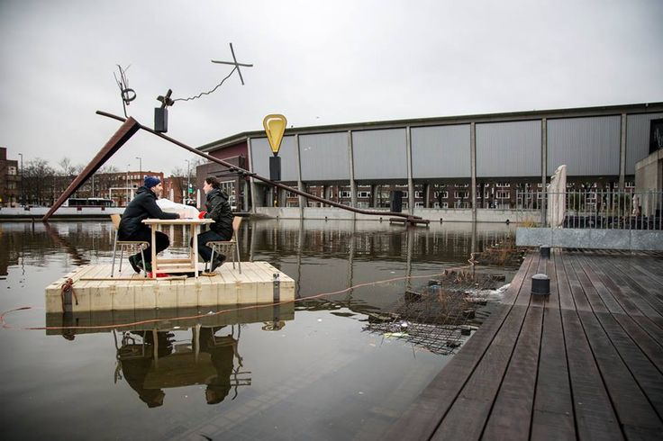 Offcourse performance at het nieuwe instituut ( photo bartel timmermans)