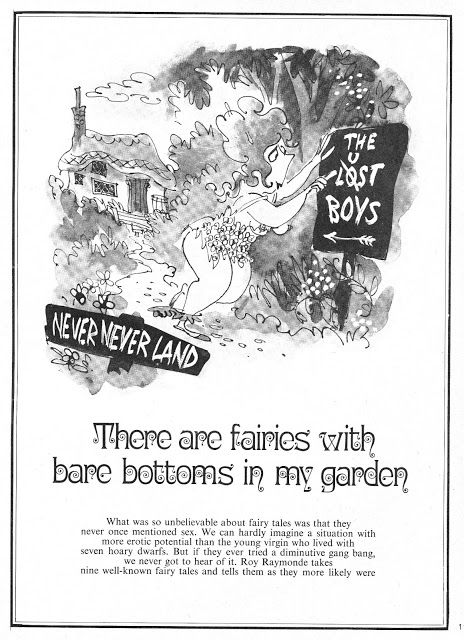 Vintage Stuff: Roy Raymonde's Fairy Tales A lusty take on some traditional fairy tales, as re-told by cartoonist Roy Raymonde (1929-2009) in Mayfair magazine, issue 5/2 (1970).