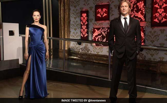 Madame Tussauds Separate Jolie-Pitt Wax Figures Post Split