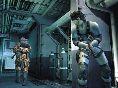 I like the strategy needed to win the Metal Gear games.  It's not about violence, but stealth.