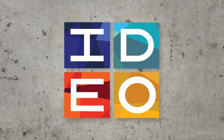 Dynamic static IDEO logo by Andrew Johnson | Brand New ...