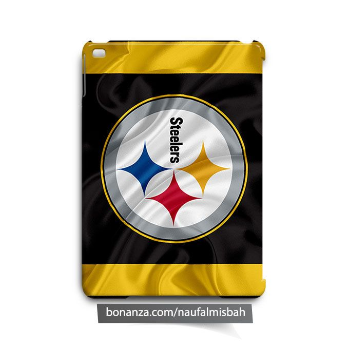 Pittsburgh Steelers Ruffles Silk iPad Air Mini 2 3 4 Case Cover