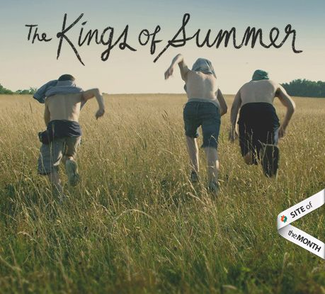 Site of the Month June 2013: The Kings of Summer - Awwwards - http://www.awwwards.com/site-of-the-month-june-2013-the-kings-of-summer.html