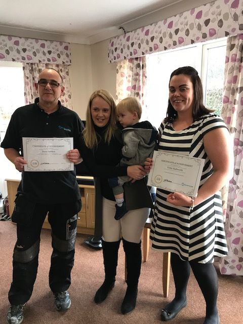 'Caring Heroes' race to Sam's aid - Birch Green Care Home Skelmersdale