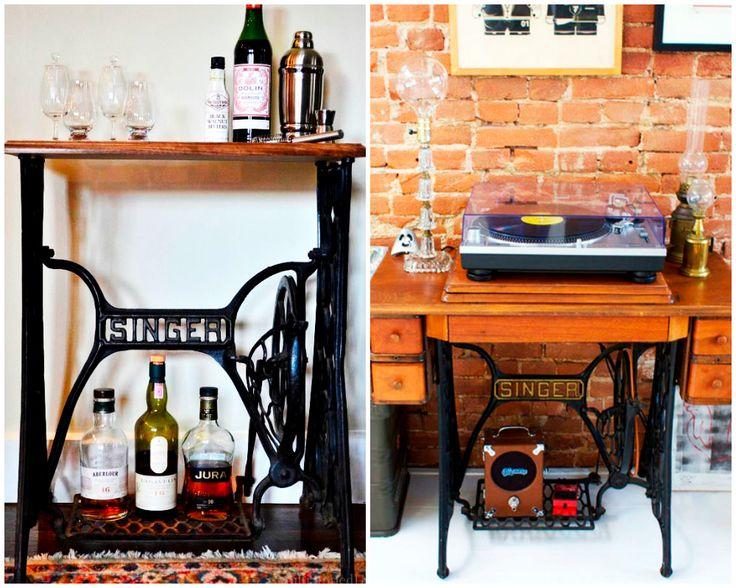 Las 25 mejores ideas sobre antiguas m quinas de coser en for Casa muebles singer villavicencio