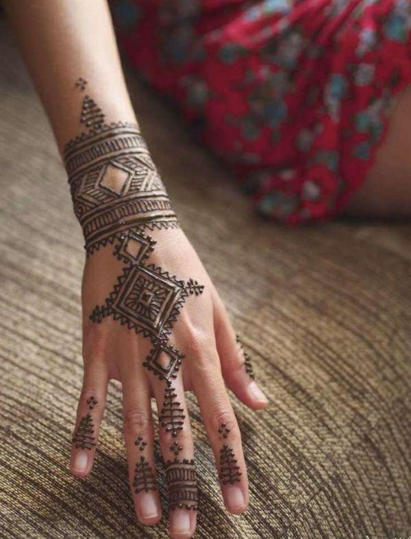 60 idées avec le henné pour créer de l'art