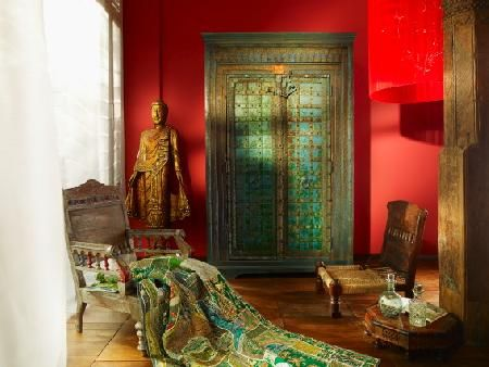 best 25 indian interiors ideas on pinterest indian room decor asian live plants and indian. Black Bedroom Furniture Sets. Home Design Ideas