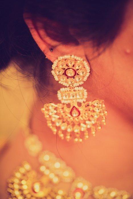 Rajputi Culture: Pankhi earrings