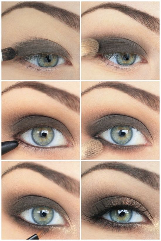 Soft Neutral Eye Makeup ,