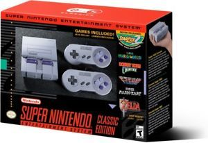 The Super Nintendo Entertainment System: Super NES Classic Edition  | eBay