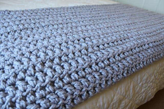 love this super chunky crocheted blanket.... Melanie Ham ...