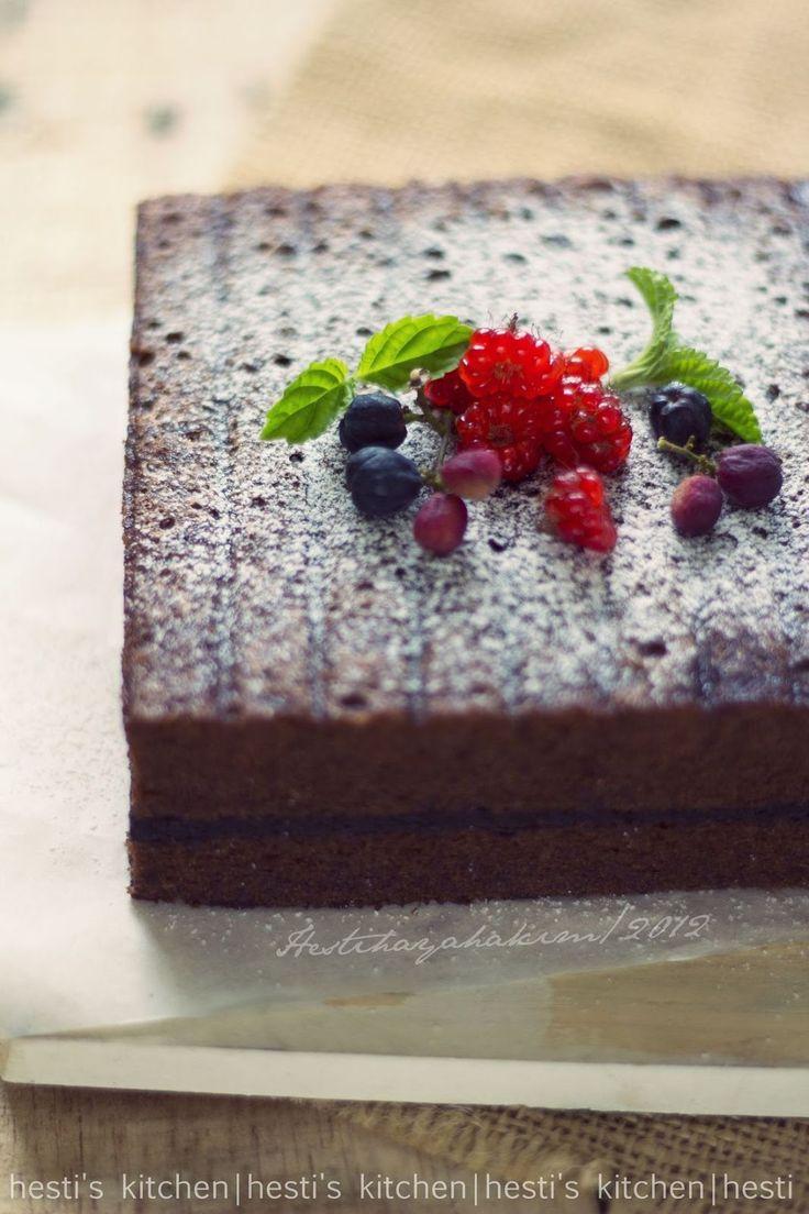 HESTI'S KITCHEN : yummy for your tummy: Brownies Kukus Cappucino