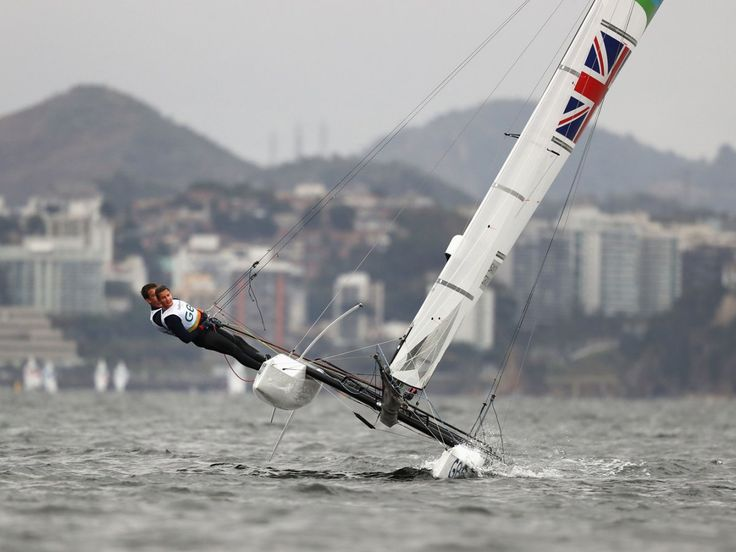 Great Britain's Ben Saxton and Nicola Groves hike all the way out.