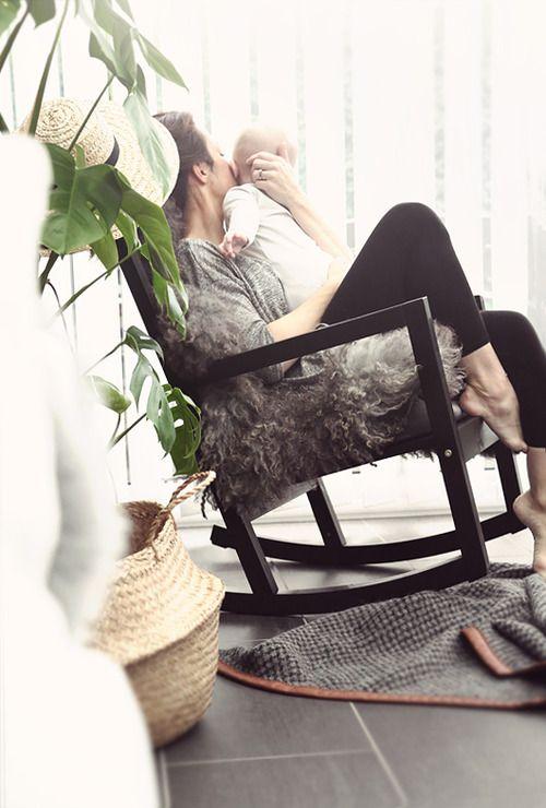 Den Muttertag gemeinsam zu Hause verbringen, am Ort der Geborgenheit und der Familie ♥