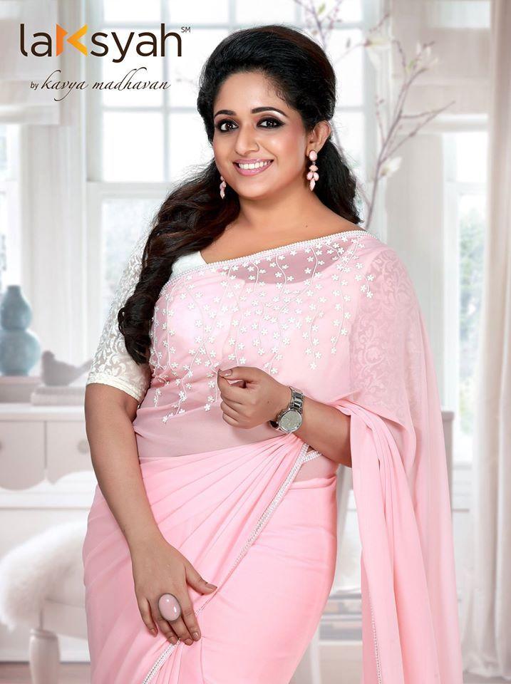 Pink Icing #Laksyah #Saree #Pearl_work #Hand_work