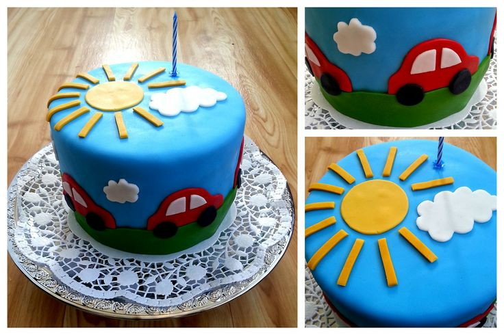 Cake for a little boy