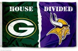 House Divided Flag - Packers vs. Vikings