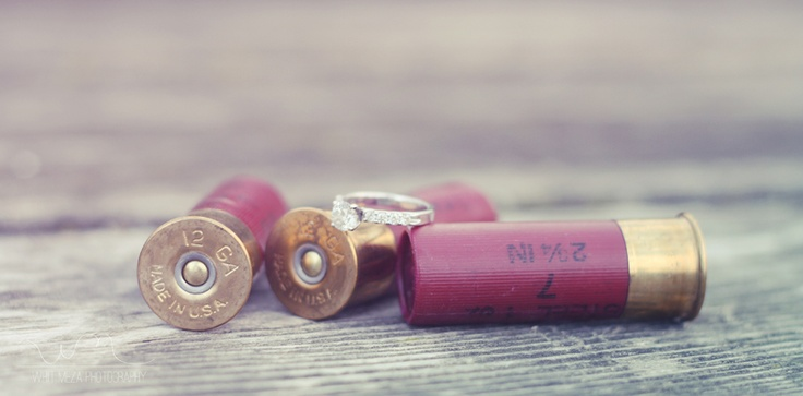 The Hunt is Over. Engagement Idea. #hunting #engagement