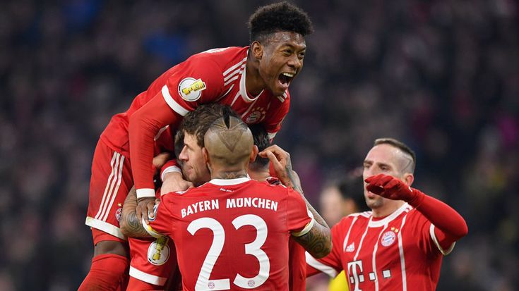 DFB Pokal: Bayern Munich edge past holders Borussia Dortmund into quarters #FCBayern   DFB Pokal: Bayern Munich edge past holders Borussia Dortmund into quarters  Bayern Munich reached the German Cup quarter-finals after being made to sweat for a 2-1 victory over holders Borussia Dortmund on Wednesday having dominated for much of the game.  The German champions twice hit the woodwork in a furious start before Jerome Boateng headed them into the lead in the 12th minute.  Thomas Mueller…