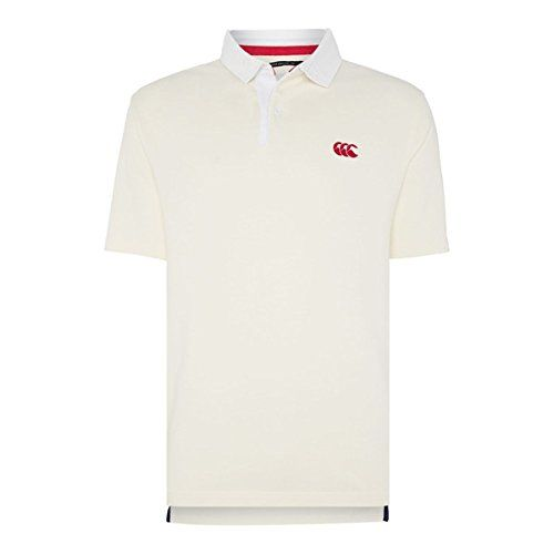 (カンタベリー) Canterbury メンズ トップス ポロシャツ Canterbury Short Sleeve Stripe Rugby Polo Shirt 並行輸入品  新品【取り寄せ商品のため、お届けまでに2週間前後かかります。】 カラー:White 素材:100% cotton